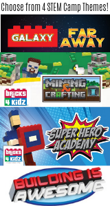 Bricks 4 Kidz camp ad