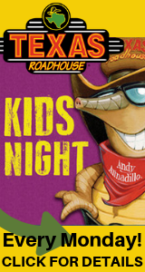 Texas Roadhouse Kids Night