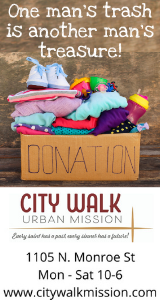 City Walk Donate