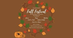 10/27: Foundation4ARTS Fall Festival